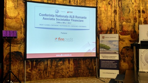 Fire Credit, present for the second time in a row at the Annual National Conference of ALB, as an official partner